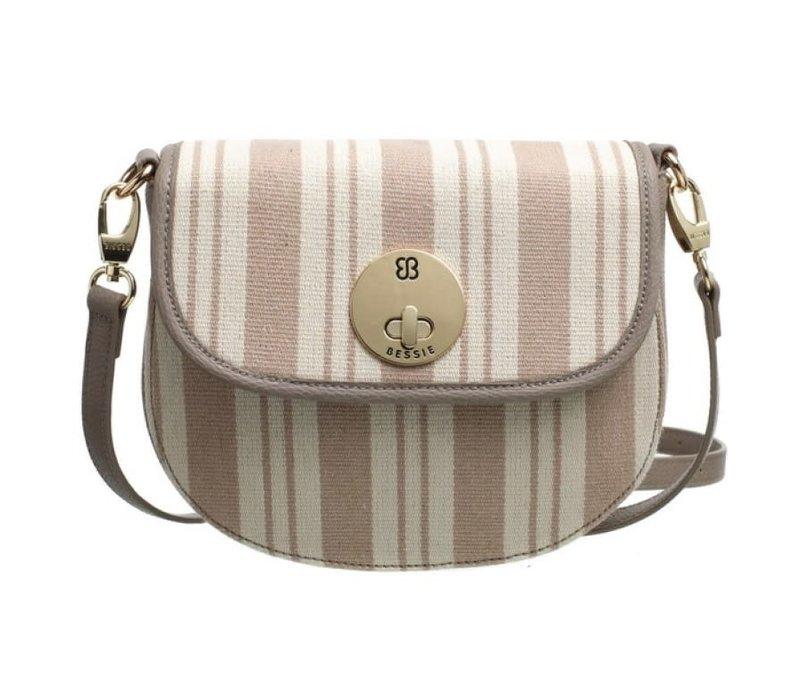 Bessie BL4705 Beige Canvas Bag