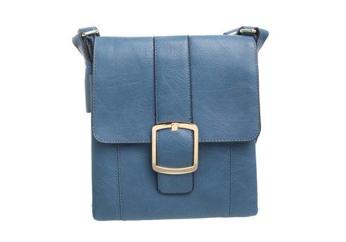 BESSIE London Bessie BW2001 Blue Cross-Body Bag
