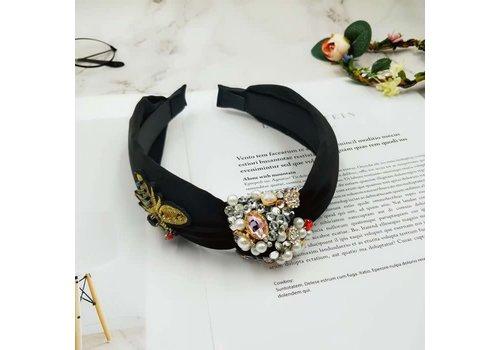 Peach Accessories HA174  Crystal Bee Jewel Hairband