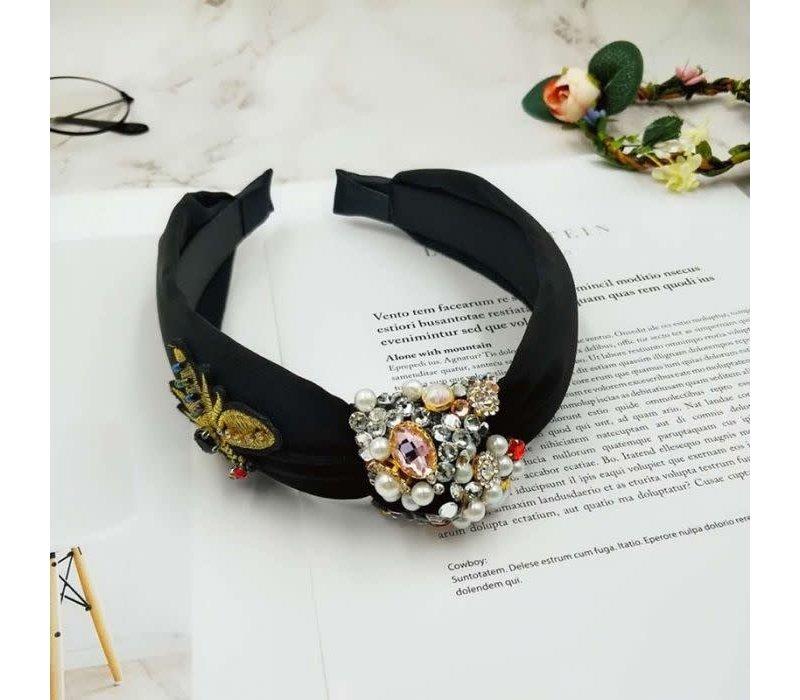 HA174  Crystal Bee Jewel Hairband
