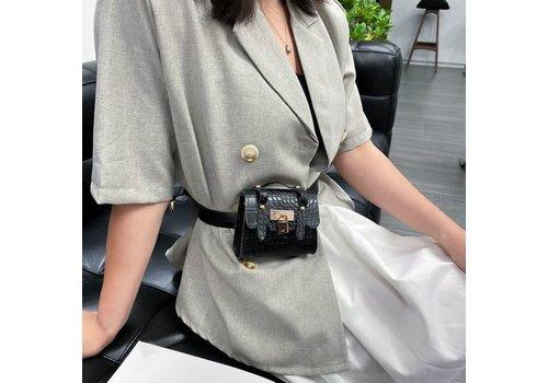 Peach Accessories BEL028 Belt Bag in Black