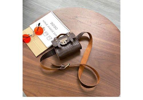 Peach Accessories BEL028 Belt Bag in Brown
