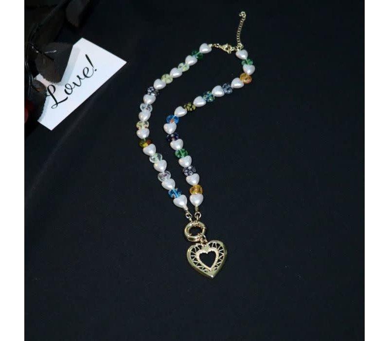 ER041 Love Heart Necklace