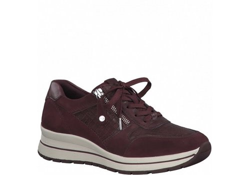 Tamaris A/W Tamaris 23740 Burgundy Sneakers