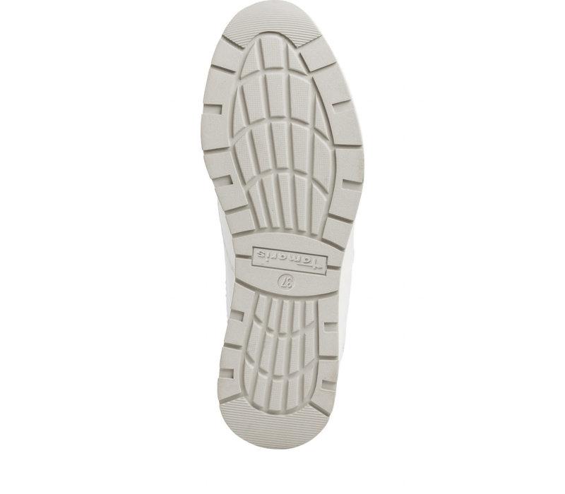 Tamaris 23740 White Leather Sneaker