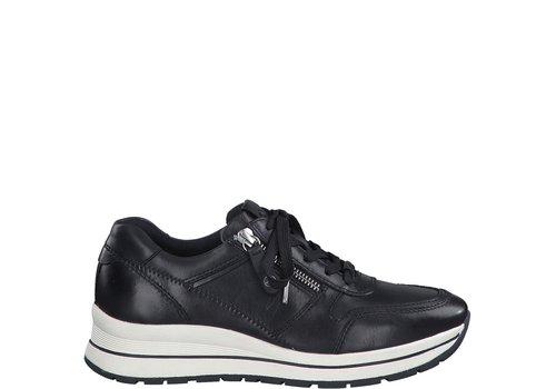 Tamaris A/W Tamaris 23740 Navy Leather Sneaker