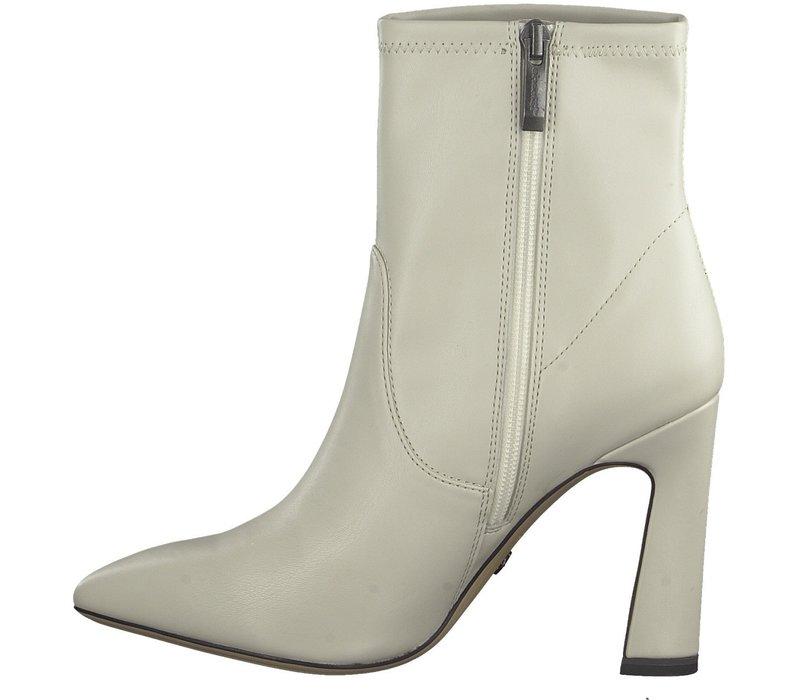 Tamaris 25131 Ivory Matt Ankle Boot