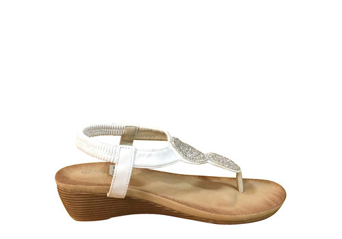 Milly & Co. Millie & Co. B807141 White Toe-Post
