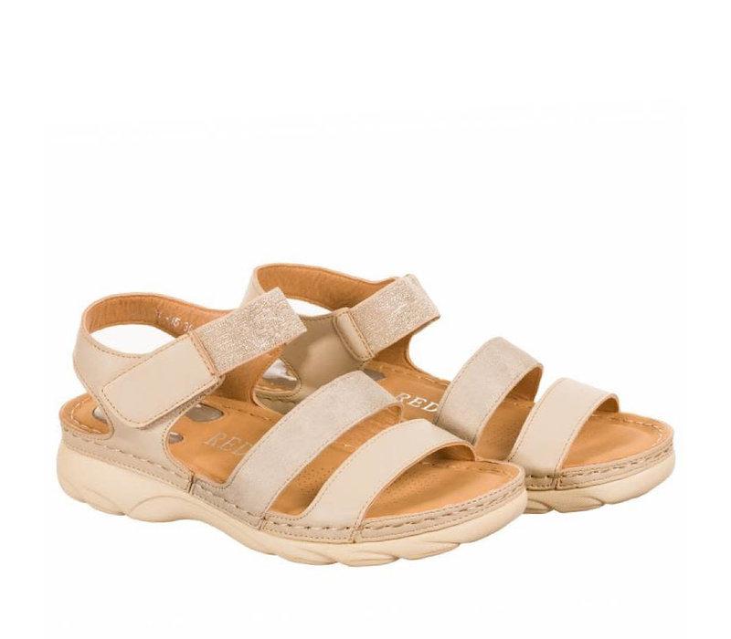 REDZ 9E6137-B5 Beige Sandal