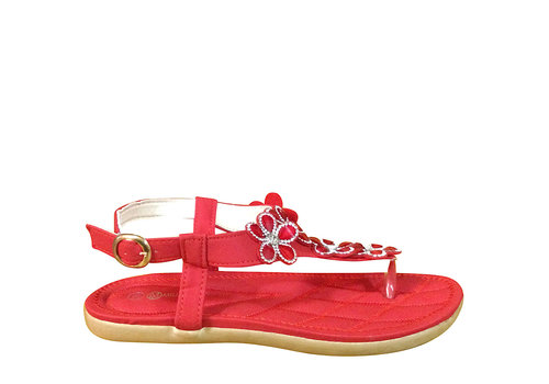 Milly & Co. Millie & Co. B808310 Red Toe-Post