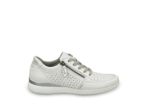 JANA Jana 23751 White /Silver Sneakers