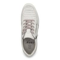 Jana 23751 White /Silver Sneakers