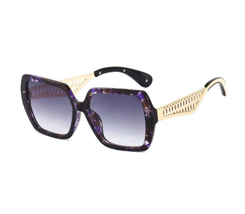 1923 Purple Marble Decorative Sunglasses