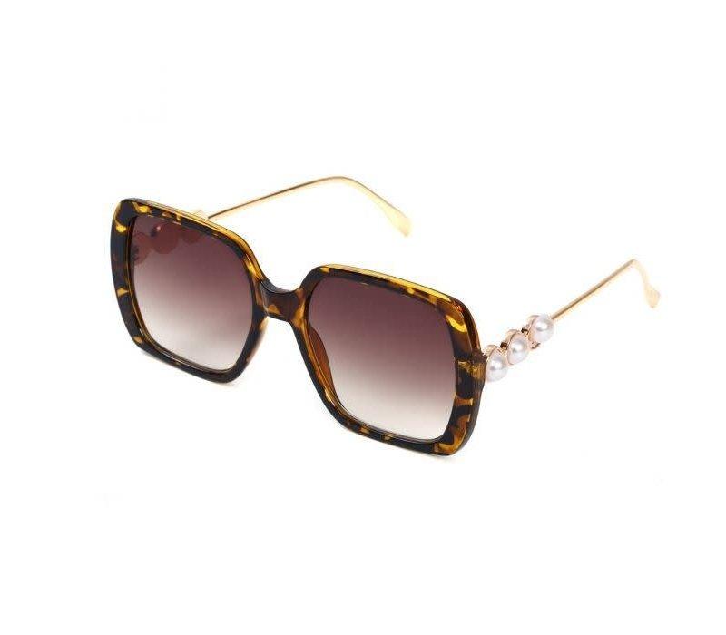 1926 Brown Marble Pearl Sunglasses