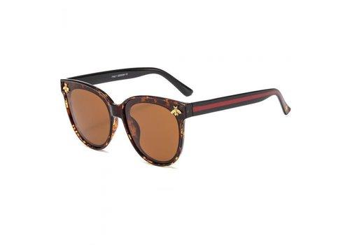 Peach Accessories 432 Bees & Stripes Tortoiseshell Sunglasses
