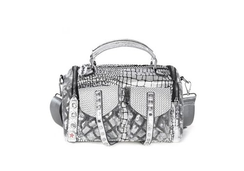 Peach Accessories 60208 Grey Decorative Handbag