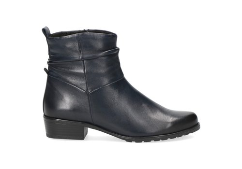 Caprice Boots Caprice 25410 Navy Soft Leather A/Boot
