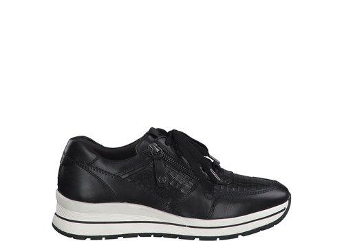 Tamaris A/W Tamaris 23740 Black Croco Sneakers