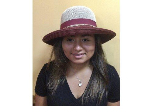 Seeberger Seeberger 54786-9323 Straw Cloche Sun Hat