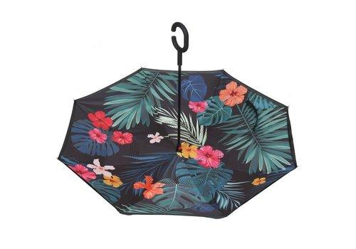Umbrellas F903-1 Tropical Leaves Umbrella