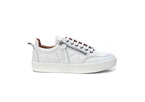 Carmela Carmela 68060 White Quilted Leather