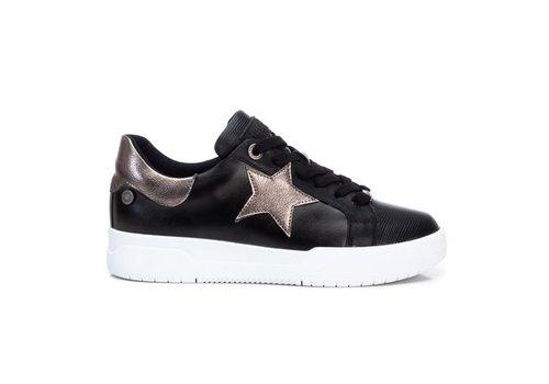 REFRESH A/W Refresh 78991 Black STAR Sneakers