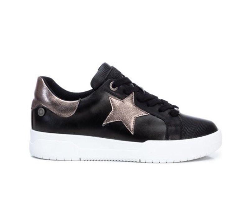 Refresh 78991 Black STAR Sneakers