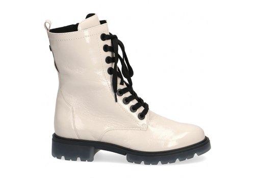 Caprice Boots Caprice 25251 Cream patent Leather