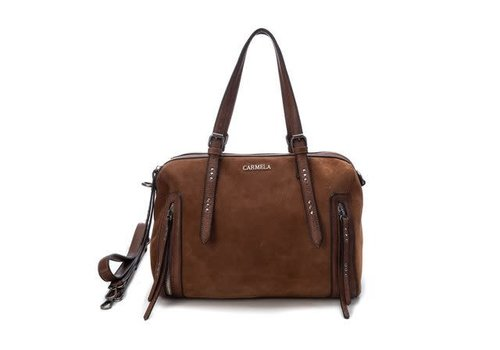 Carmela Carmela Tan Suede Bag