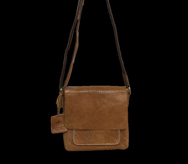 Rowallan 1627/14 Tan Half flap Bag