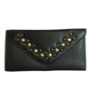Rowallan Rowallan 9487 Black Leather Trifold Purse