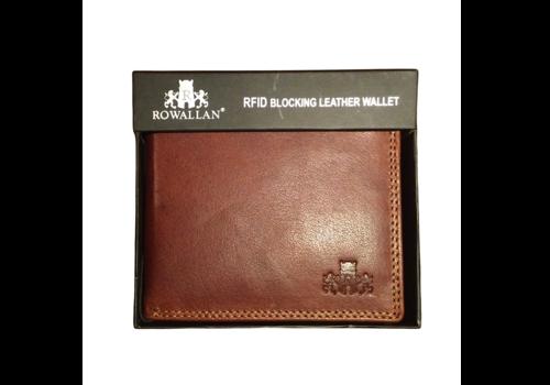 Rowallan Rowallan 9806/14 Tan Leather Wallet
