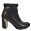 REDZ REDZ D2310 Black Block Heel Boots