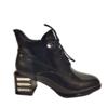 REDZ REDZ H1002 Black Patent Boot