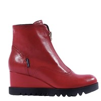 MarcoMoreo A677 Red front Zip  A/Boot