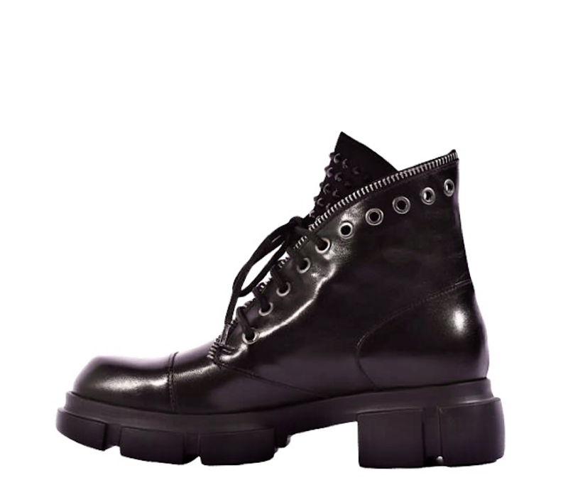 MarcoMoreo A147 Black Zip effect Boot