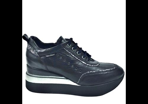 MarcoMoreo MarcoMoreo A651  Navy Platform Shoes