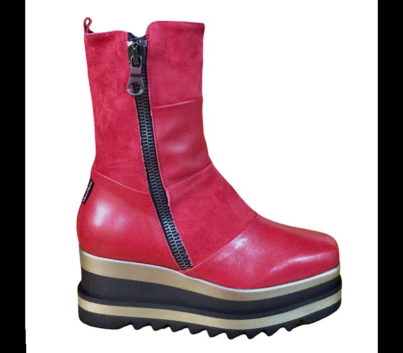 MarcoMoreo A013 Red platform Boots