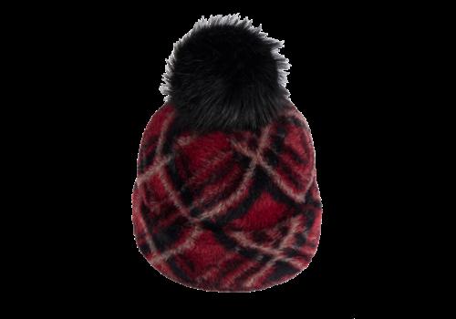 Pia Rossini Pia Rossini RUBI Hat in Red check