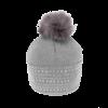 Pia Rossini Pia Rossini ADALYN Hat in Silver Grey