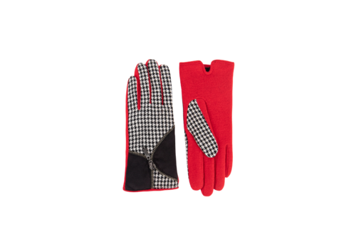 Pia Rossini Pia Rossini KORALINE Red multi Gloves
