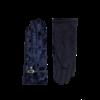 Pia Rossini Pia Rossini FELIX Navy velvet Gloves