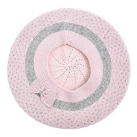 SDN108 Cashmere mix Hat & Snood set pink