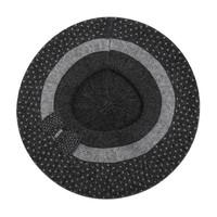 SDN108 Cashmere mix Hat & Snood set Dark Grey