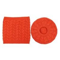 SDN93 Matching Hat & Snood set in Orange