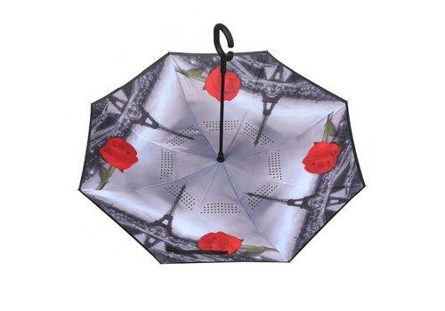 Peach Accessories P114 Paris Upside down Umbrella