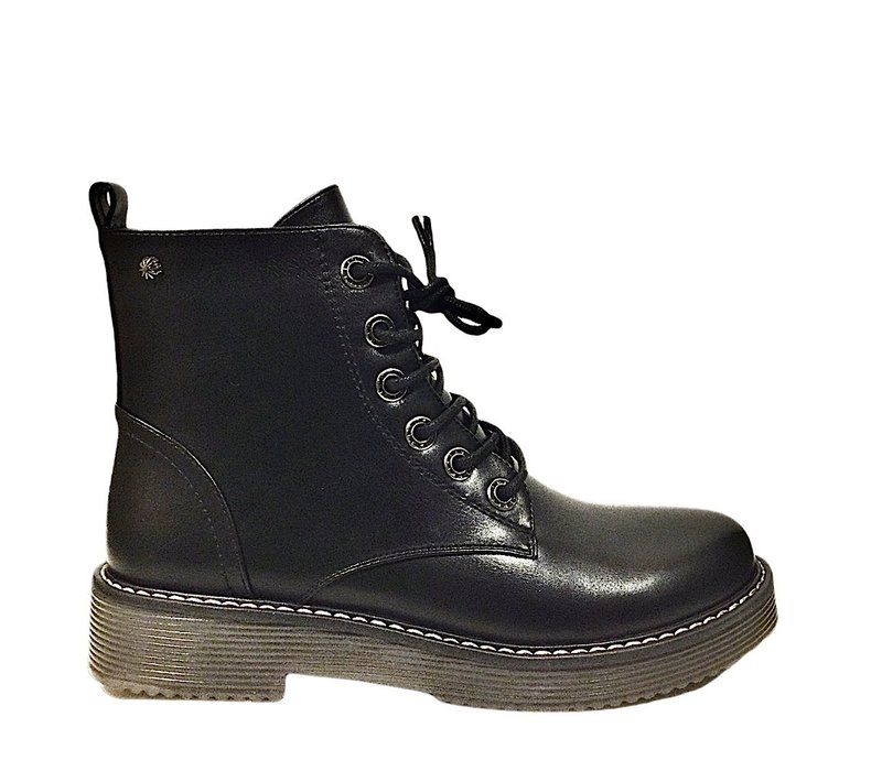 REDZ D2371 Black Matt Doc style Boots