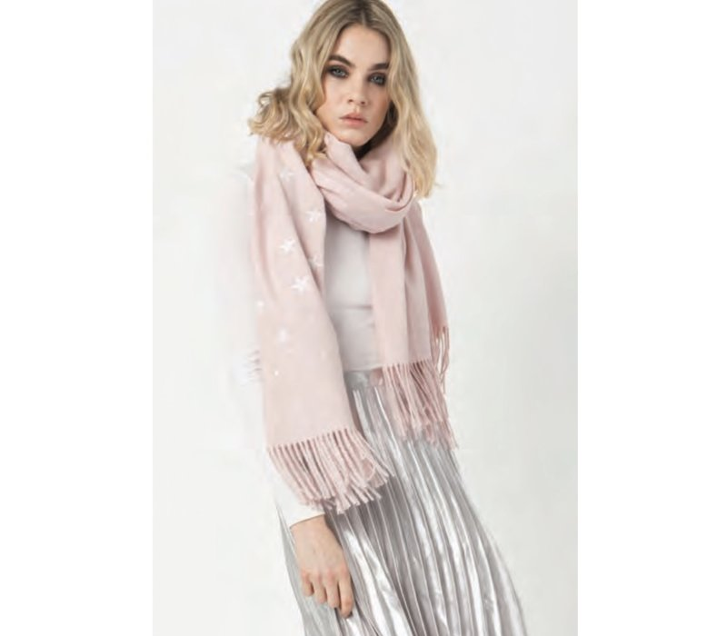 Pia Rossini MALONE Scarf in Pink