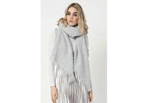 Pia Rossini Pia Rossini ALEXA Grey Blanket Scarf