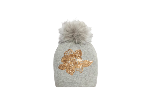 Pia Rossini Pia Rossini ALMA Hat in Grey/Gold